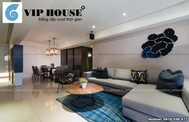 Thiết kế nội thất chung cư 75m2 sang trọng và đẹp cuốn hút
