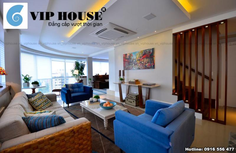 Mẫu thiết kế nội thất đẹp cho chung cư Penthouse
