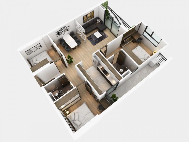 Những điều cần chú ý khi xây dựng căn hộ của bạn