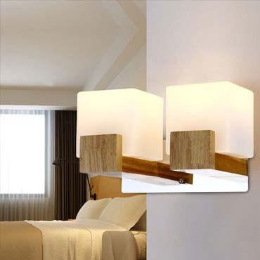 Tại sao đèn ngủ treo tường bằng gỗ lại được ưa chuộng