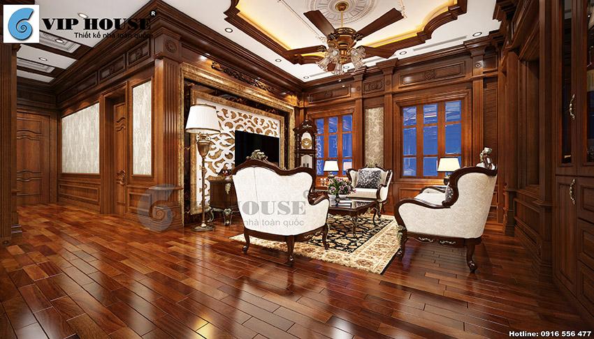 Xem ngay mẫu thiết kế nội thất tân cổ điển đẹp lý tưởng cho biệt thự Pháp