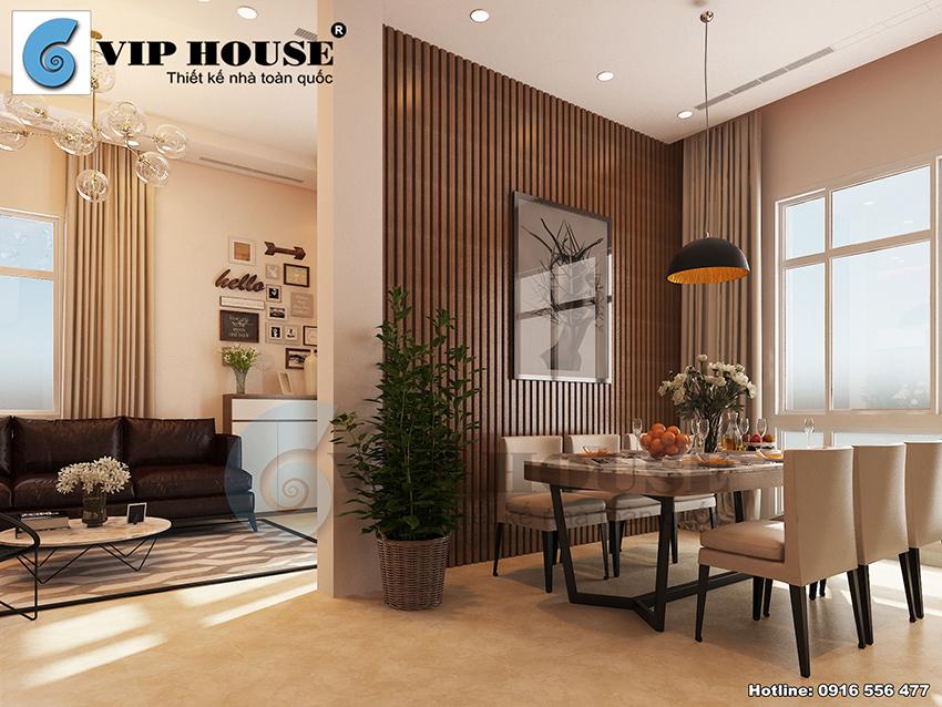 Mẫu thiết kế nội thất hiện đại cho nhà phố thoáng, rộng