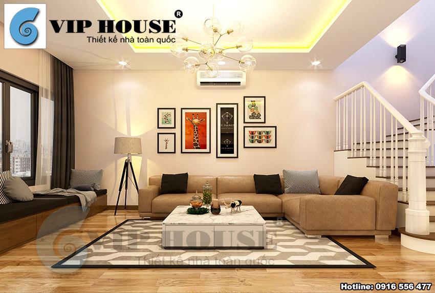 Không gian nội thất hiện đại cho nhà phố đẹp tinh tế tại Bắc Ninh