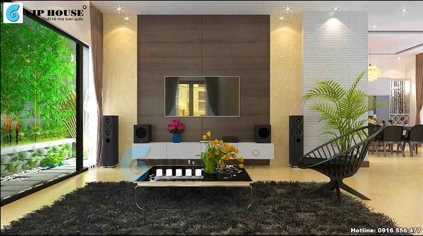 Ghé thăm nội thất nhà phố hiện đại đẹp ấn tượng tại Ninh Hiệp