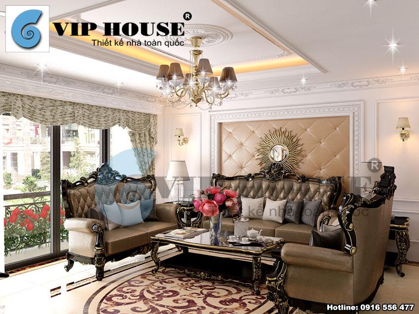 Tư vấn thiết kế nội thất biệt thự tân cổ điển tại Hà Nội