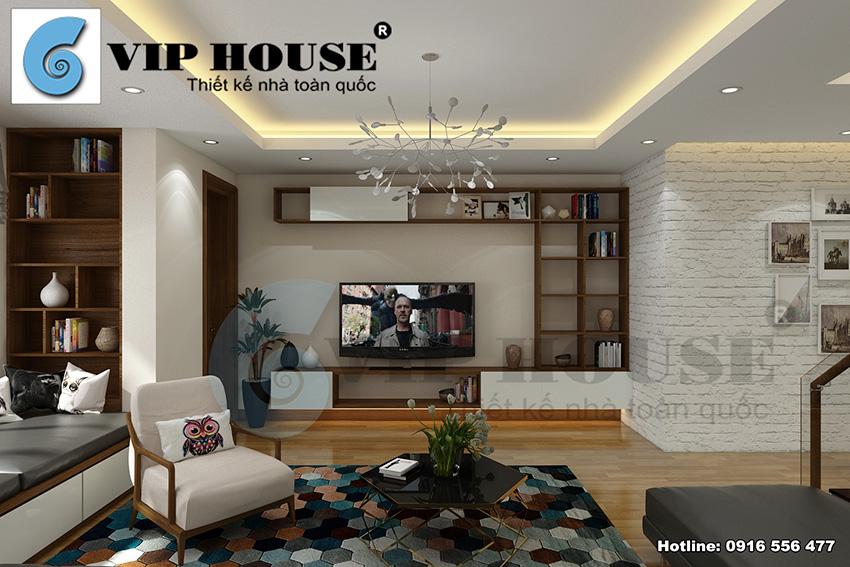 Nội thất nhà phố phong cách hiện đại đẹp tinh tế và tiện nghi