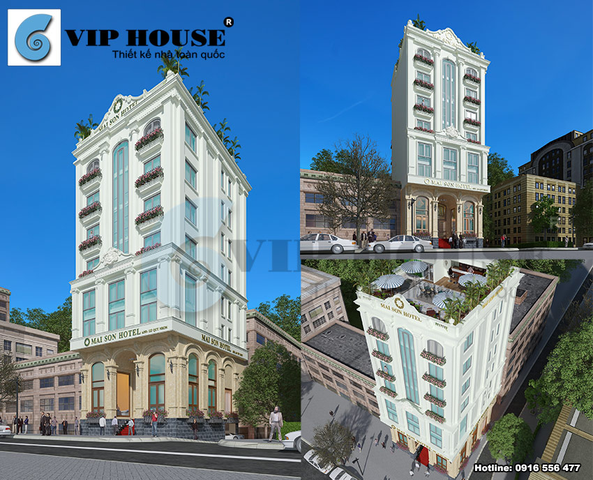 Mẫu khách sạn 3 sao dẫn đầu xu hướng thiết kế