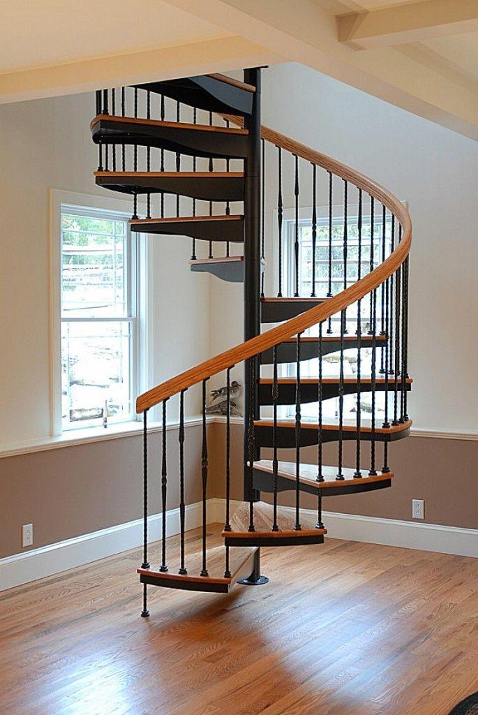 Thiết kế và cách tính bậc cầu thang xoắn ốc