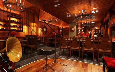 Tư vấn thiết kế nhà hàng, showroom rượu đẳng cấp, sang trọng