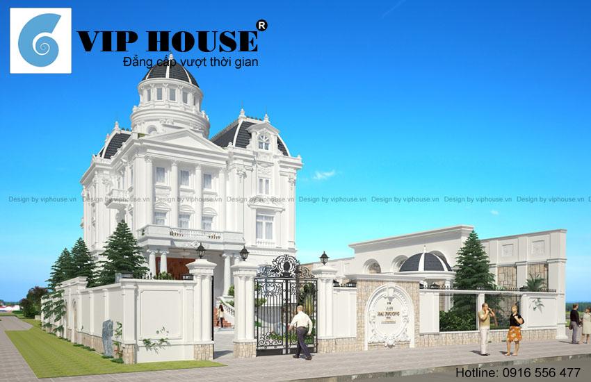 Tuyển chọn các thiết kế biệt thự kiểu Pháp đẹp nhất mọi thời đại
