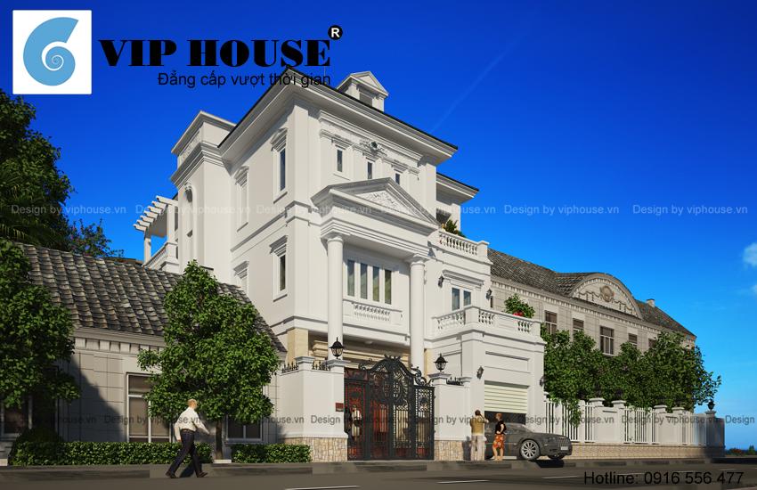 Vẻ đẹp của biệt thự kiểu Pháp châu Âu tại Hà Nội
