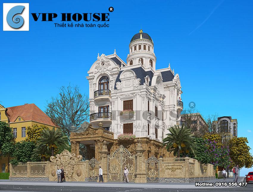 Điểm danh qua các thiết kế biệt thự kiểu Pháp đẹp từ Vip House