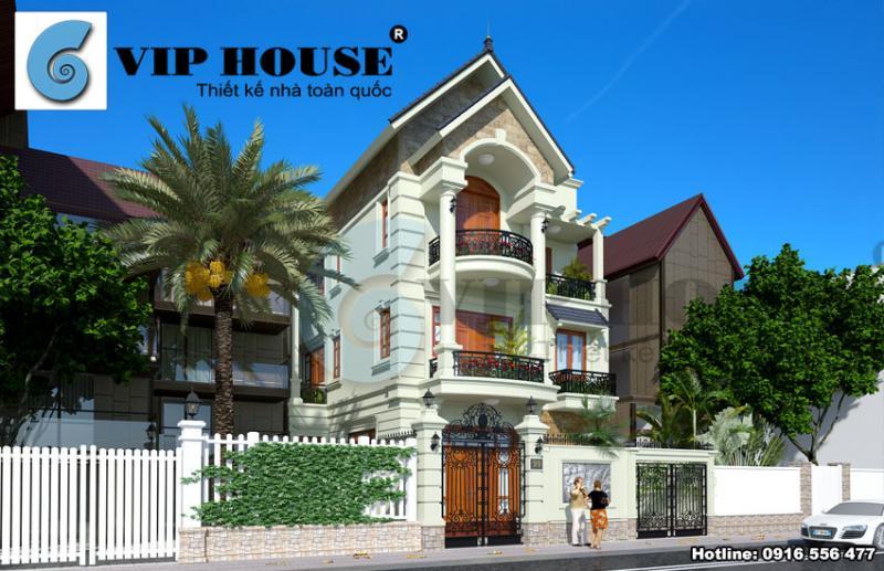 Tư vấn thiết kế biệt thự phố mini ấn tượng tại Ninh Bình