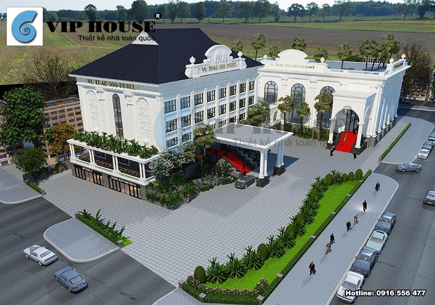 Chiêm ngưỡng các thiết kế khách sạn đẹp do Vip House thực hiện