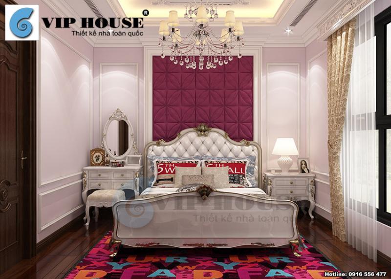 Mẫu thiết kế nội thất đẹp cho nhà phố tân cổ điển tại Mỹ Đình