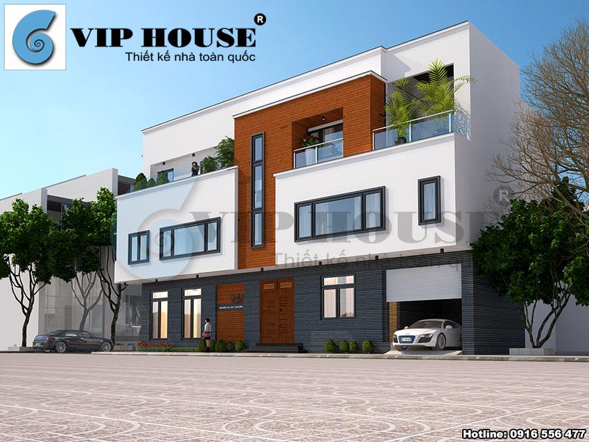 Những mẫu thiết kế nhà phố đẹp lung linh tại Ninh Bình