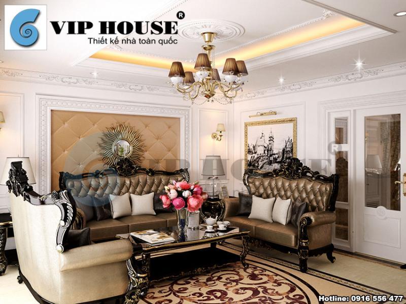 Sang trọng và gần gũi với mẫu thiết kế nội thất đẹp tân cổ điển