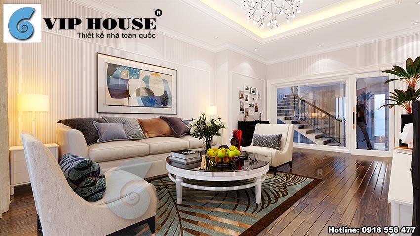 Chiêm ngưỡng mẫu thiết kế nội thất tân cổ điển đẹp mãn nhãn
