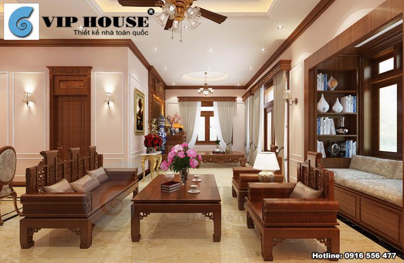 Cách thiết kế nội thất tân cổ điển đẹp mãn nhãn cho biệt thự vườn