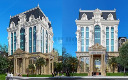 Vẻ đẹp từ thiết kế khách sạn cổ điển 6 tầng