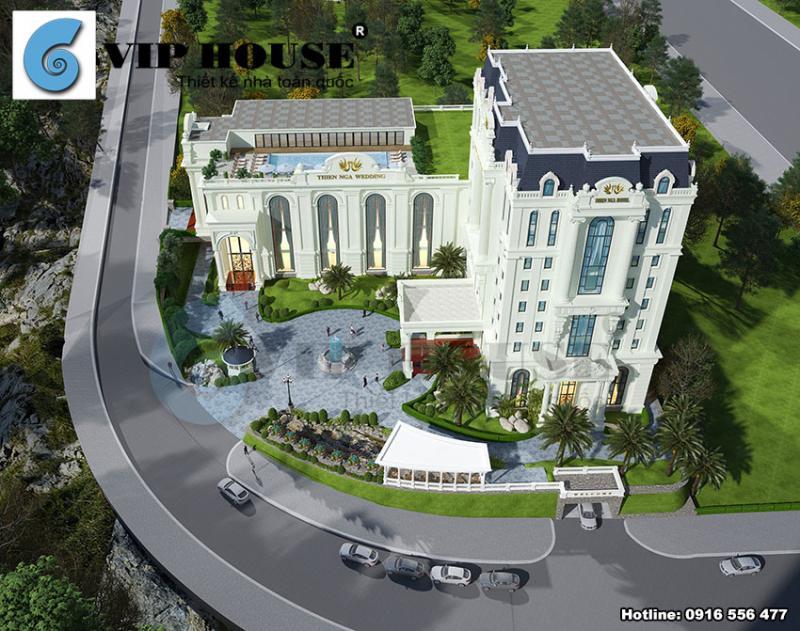 Ngỡ ngàng trước vẻ đẹp từ 2 thiết kế khách sạn đẹp kết hợp với nhà hàng