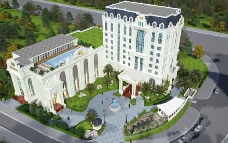 Thiết kế khách sạn, nhà hàng tiệc cưới đẹp ngất ngây tại Lào Cai