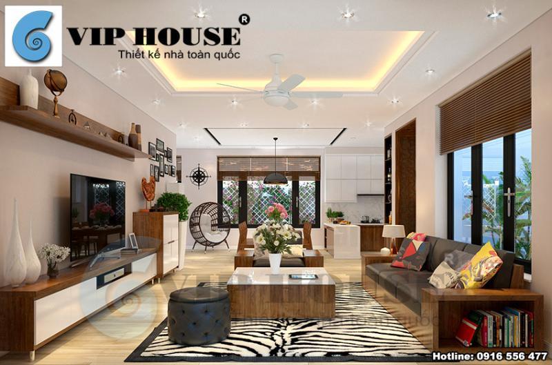 Mẫu thiết kế nội thất hiện đại đẹp mãn nhãn tại Bắc Ninh