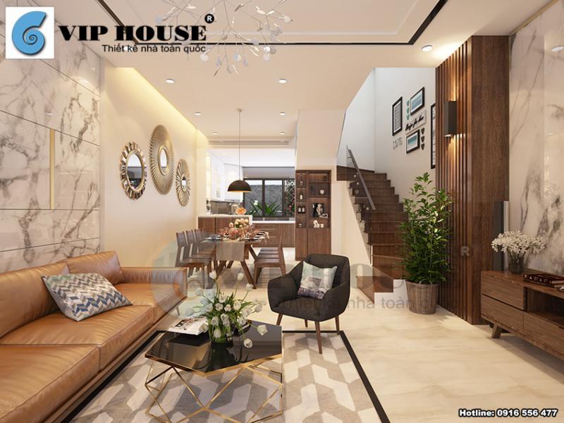 Mẫu thiết kế nội thất hiện đại biệt thự Gamuda vô cùng sang trọng