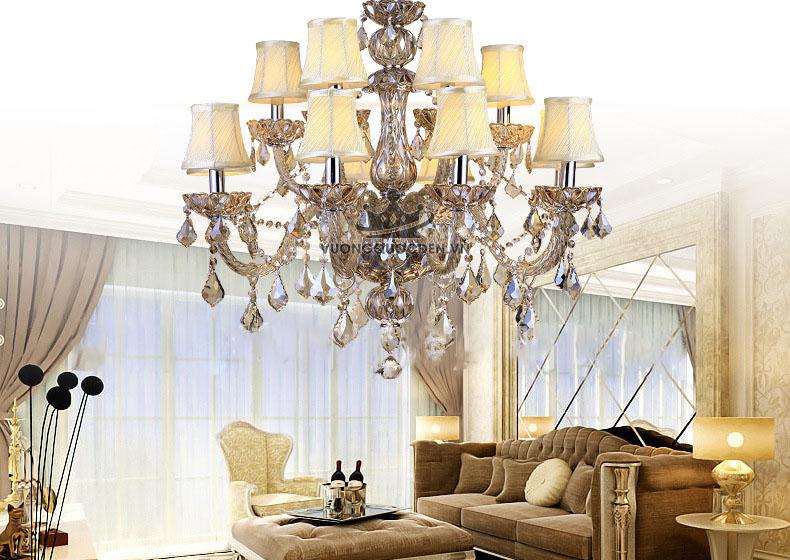 Những loại đèn chùm trang trí nhà được nhiều gia đình lựa chọn nhất