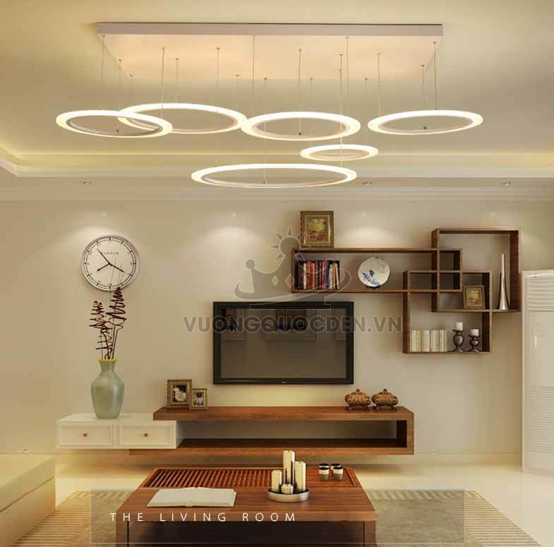 Mẹo chọn đèn trang trí cho phòng khách hiện đại