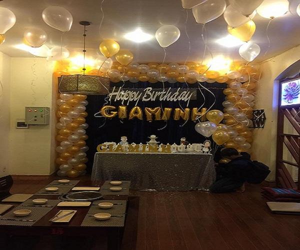 Tổ chức sinh nhật tại nhà hàng ở Thái Bình