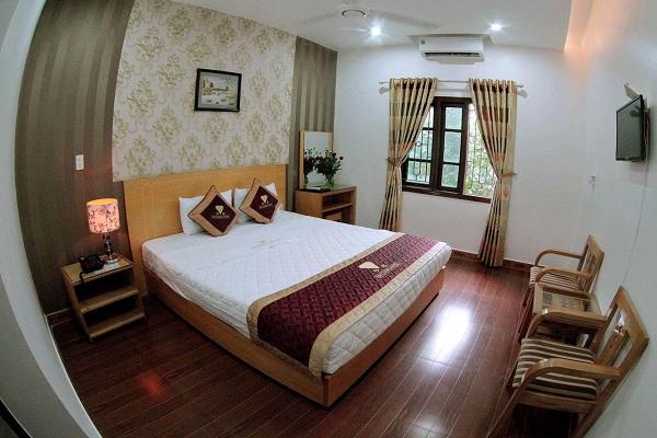 Bố trí nội thất khách sạn Thái Bình