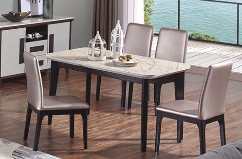 Bàn ghế ăn cao cấp thiết kế 4 người